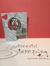 owl flip card