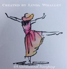watercolour dancing
