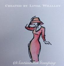 watercolour lady