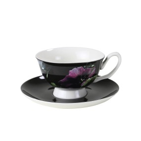 Robert Gordon Teacup & Saucer Hellebore