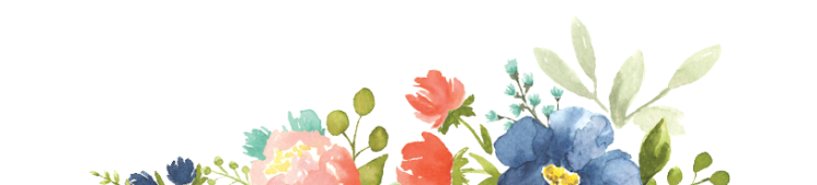 Blog flower header