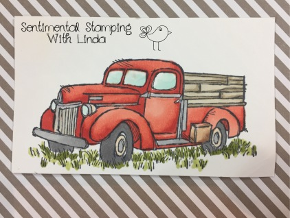 country livin stampin blends