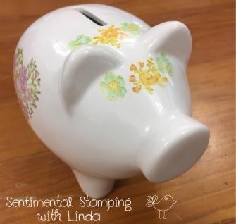 Piggy Bank Stampin' Blends