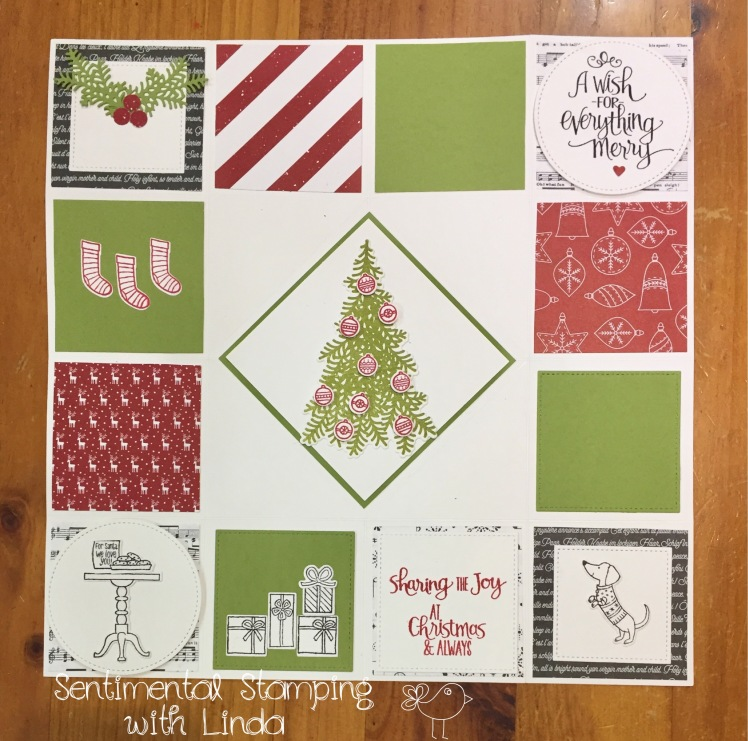 Ready for Christmas Pop Up Card 2