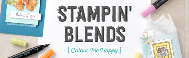 Stampin' Blends Colour Me Happy