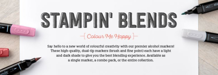 stampin blends colour me happy