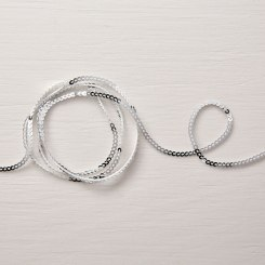 mini silver sequins