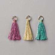 mini tassels embellishment