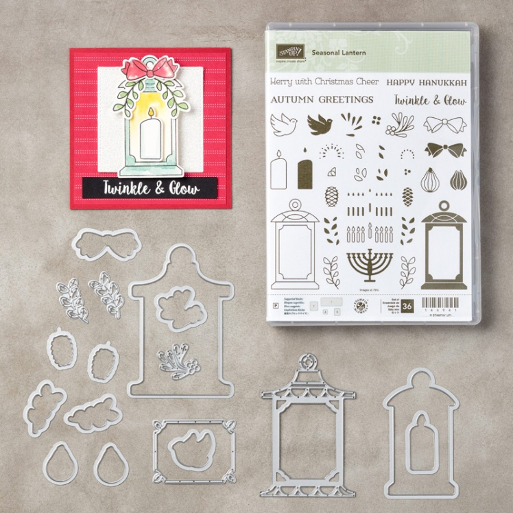 Stampin up Seasonal Lantern