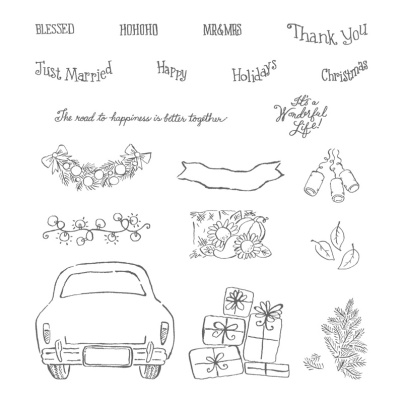 Wonderful Life Stamp Set