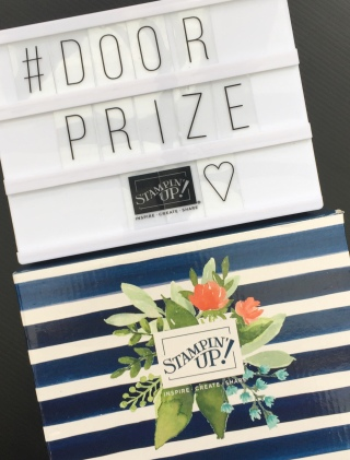 door prize announcement