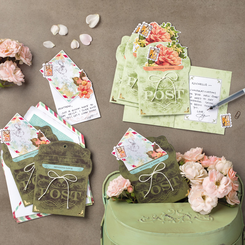 precious parcel card kit projects