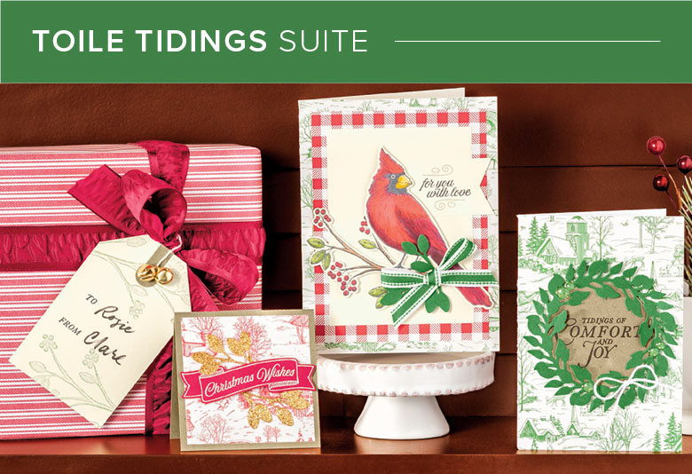 Toile Tidings Stampin Up Suite