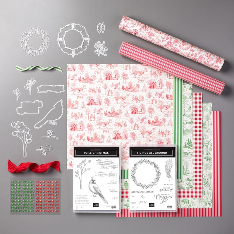 toile tidings suite bundle